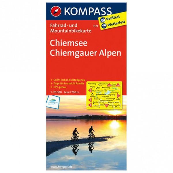 Kompass - Chiemsee - Pyöräilykartat