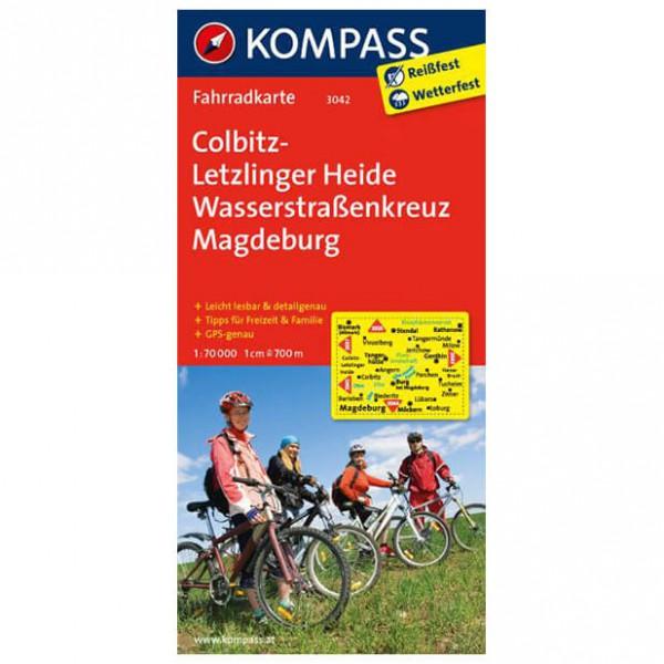 Kompass - Colbitz-Letzlinger Heide - Sykkelkart