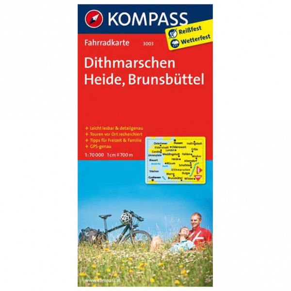 Kompass - Dithmarschen - Carte cyclable