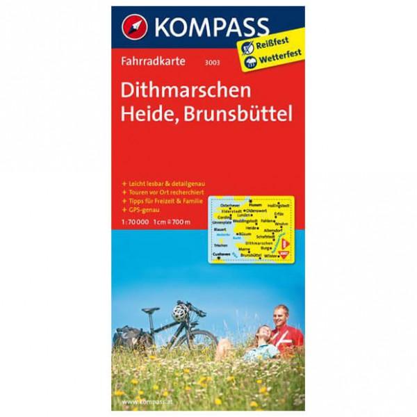 Kompass - Dithmarschen - Cykelkort