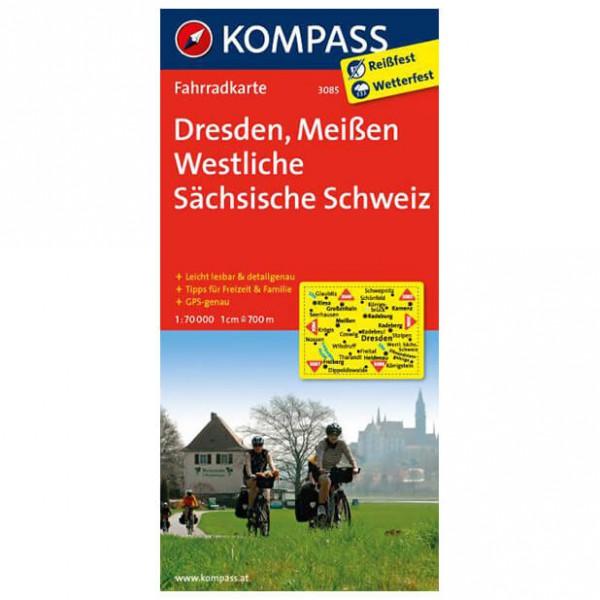 Kompass - Dresden - Cartes de randonnée à vélo