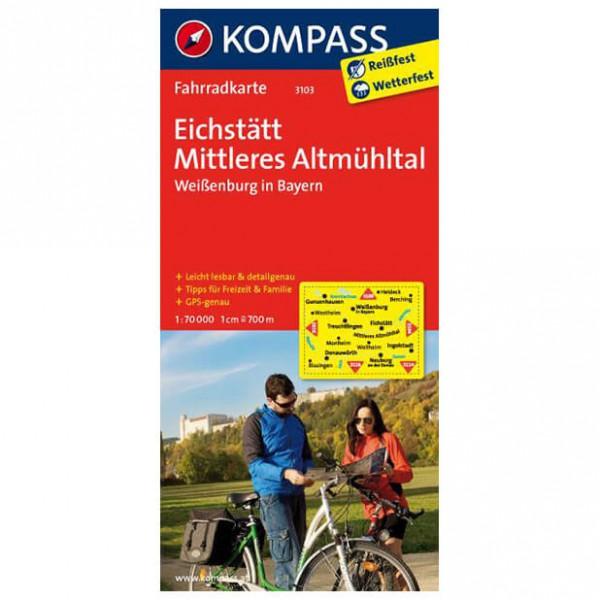 Kompass Eichstätt - Cykelkort køb online | Cycle maps