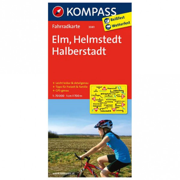 Kompass - Elm - Cartes de randonnée à vélo