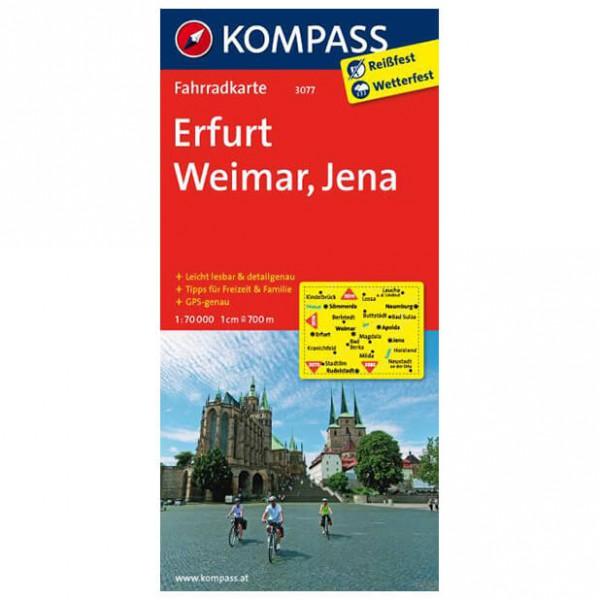 Kompass - Erfurt - Pyöräilykartat