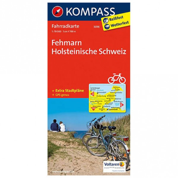 Kompass - Fehmarn - Cykelkartor
