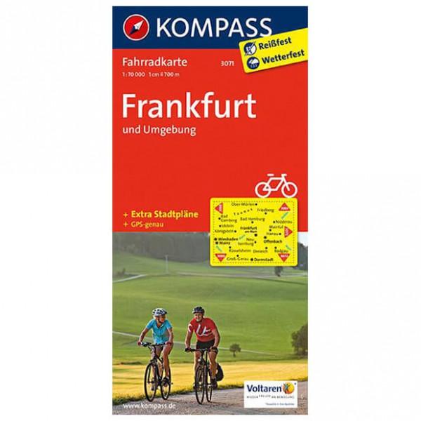 Kompass - Frankfurt und Umgebung - Cycling map