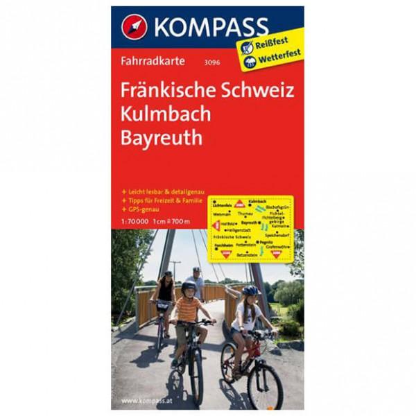 Kompass - Fränkische Schweiz - Cycling maps