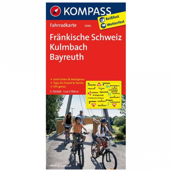 Kompass - Fränkische Schweiz - Pyöräilykartat