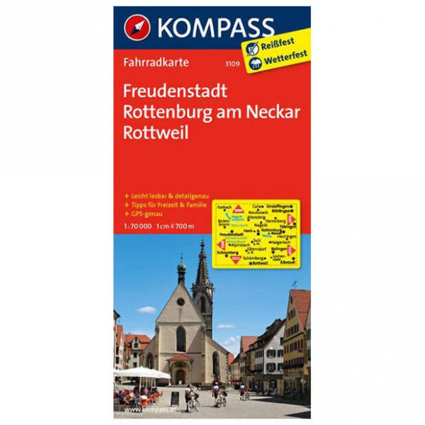 Freudenstadt - Cycling map