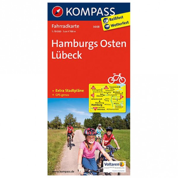 Kompass - Hamburgs Osten - Cycling map