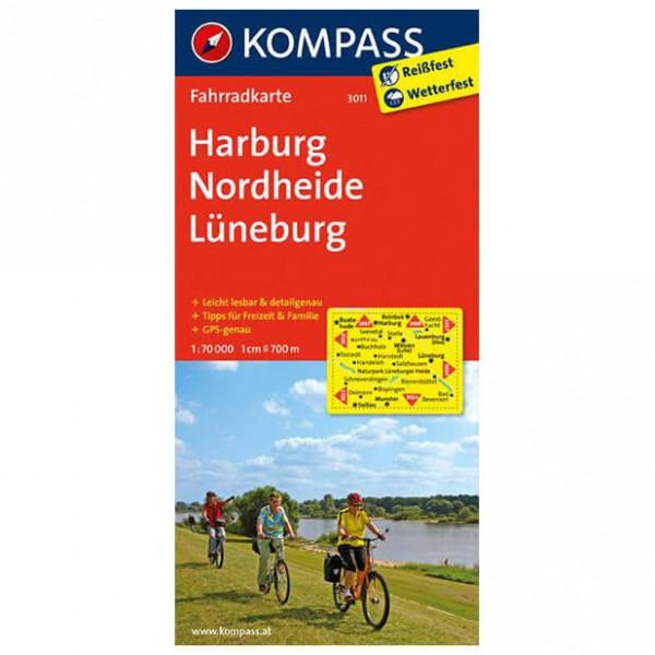 Kompass - Harburg - Cartes de randonnée à vélo
