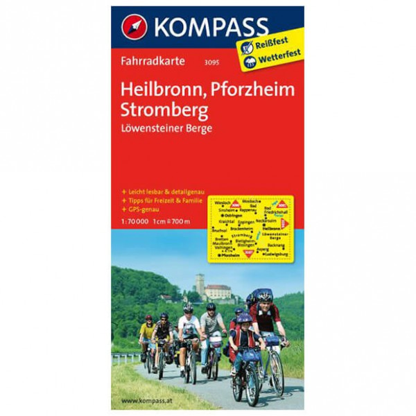 Kompass - Heilbronn - Cycling maps