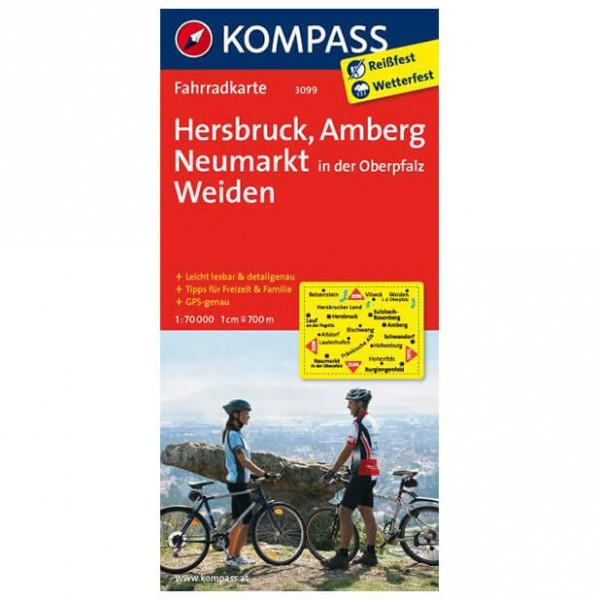 Kompass - Hersbruck - Cartes de randonnée à vélo
