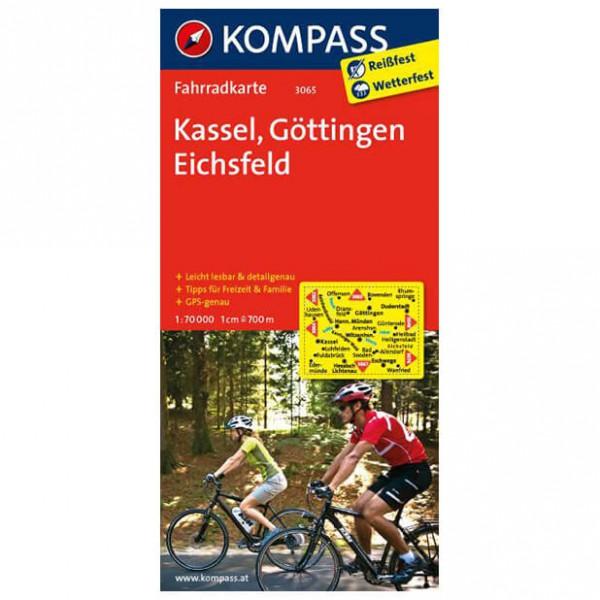 Kompass - Kassel - Pyöräilykartat