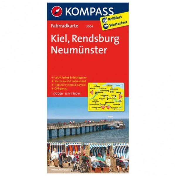 Kompass - Kiel - Cykelkort