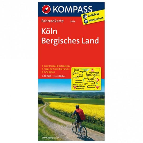 Kompass - Köln - Sykkelkart