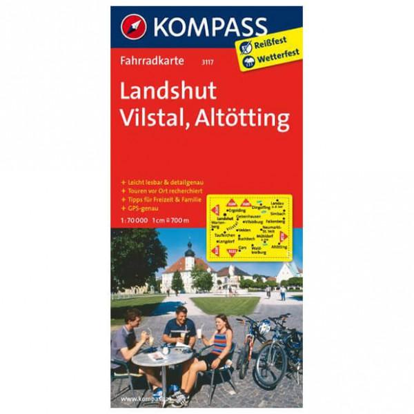 Kompass - Landshut - Cycling maps