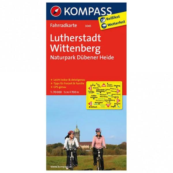 Kompass - Lutherstadt Wittenberg - Carta cicloturistica