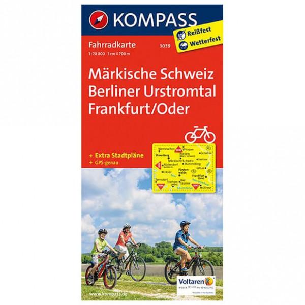 Kompass - Märkische Schweiz - Cykelkort