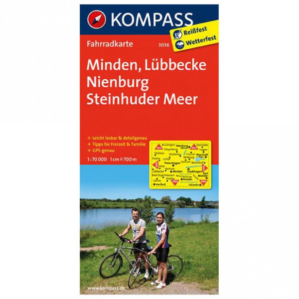 Kompass - Minden - Cycling maps