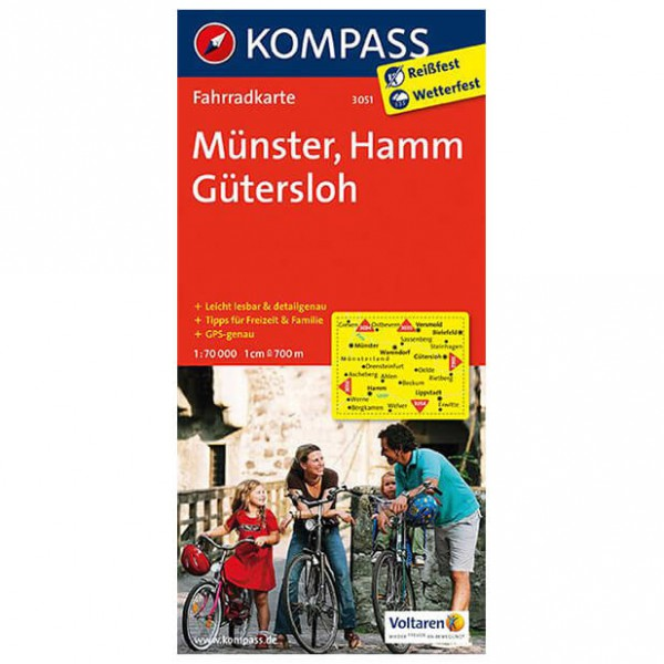 Mnster - Cycling map