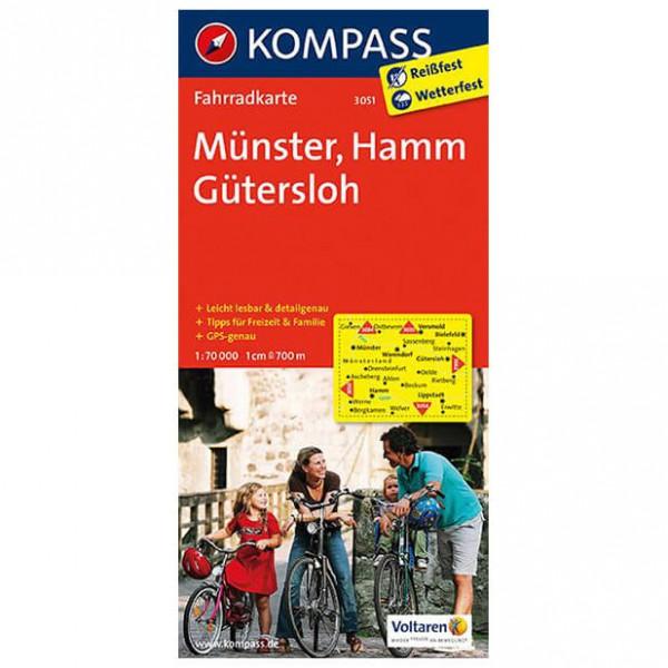 Kompass - Münster - Pyöräilykartat