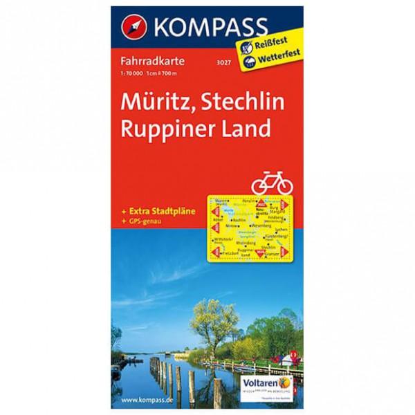Kompass - Müritz - Cartes de randonnée à vélo