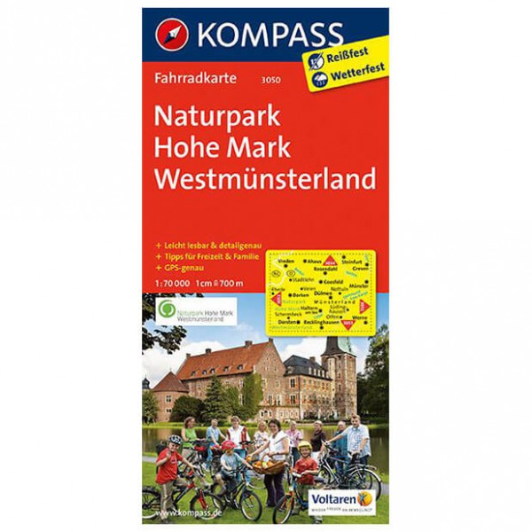 Kompass - Naturpark Hohe Mark - Cycling map