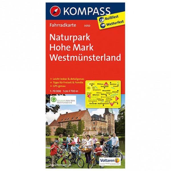 Kompass - Naturpark Hohe Mark - Cykelkort