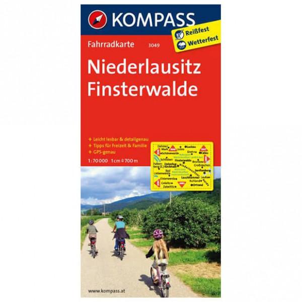 Kompass - Niederlausitz - Carte de cyclisme