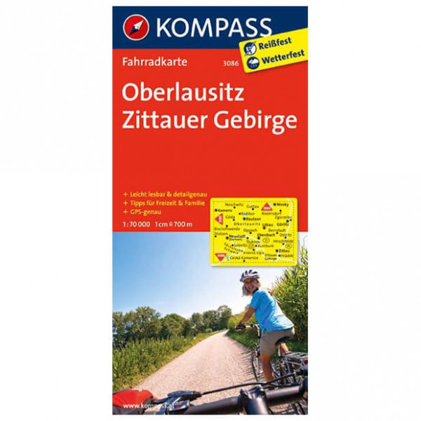 Kompass - Oberlausitz - Cycling maps