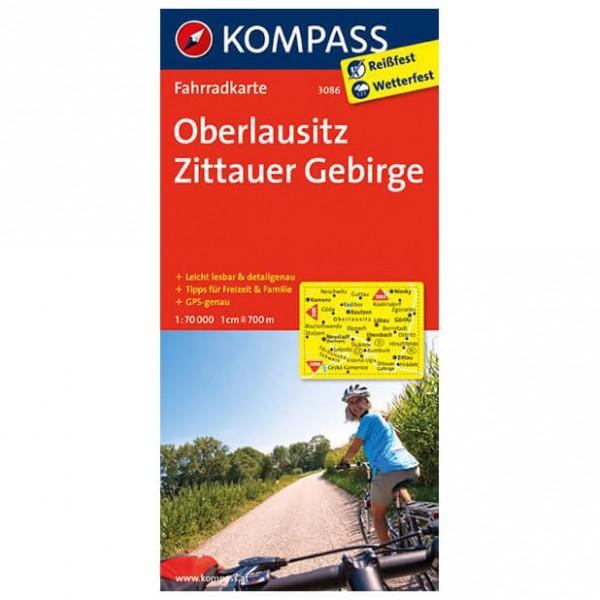 Kompass - Oberlausitz - Cykelkort