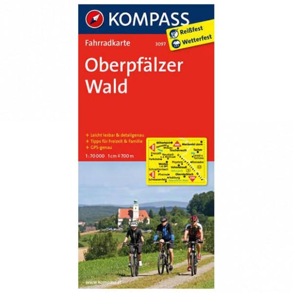 Kompass - Oberpfälzer Wald - Fietskaarten