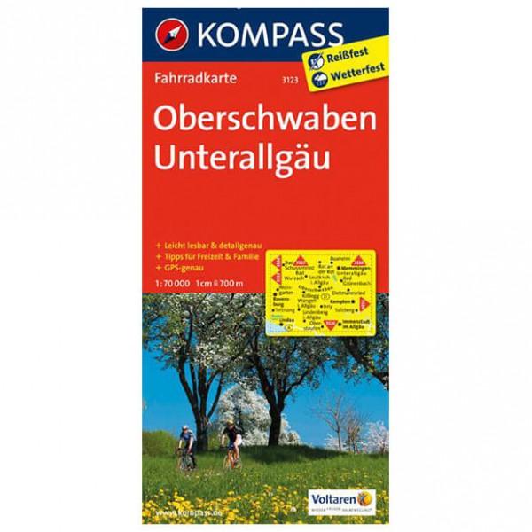 Kompass - Oberschwaben - Cartes de randonnée à vélo