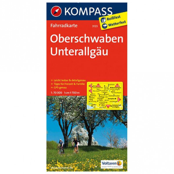 Kompass - Oberschwaben - Cycling maps