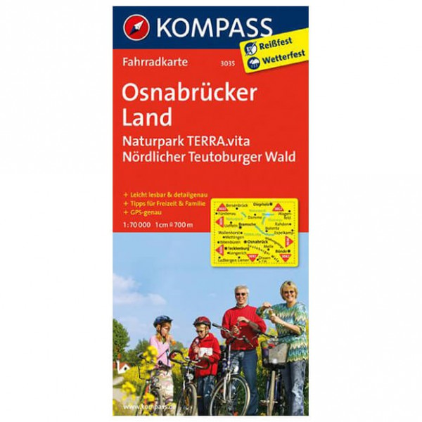 Osnabrcker Land - Cycling map