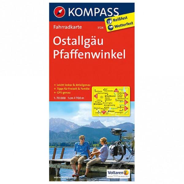 Kompass - Ostallgäu - Sykkelkart