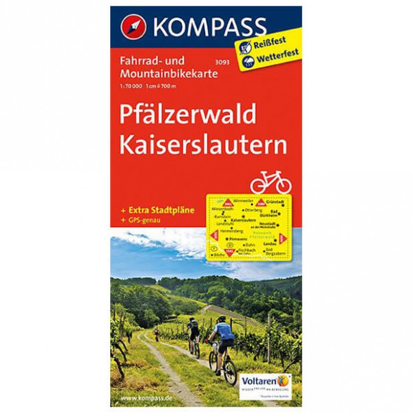 Pf ¤lzerwald - Cycling map