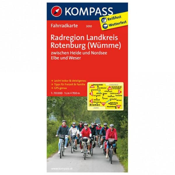 Kompass - Radregion Landkreis Rotenburg (Wümme) - Radkarte