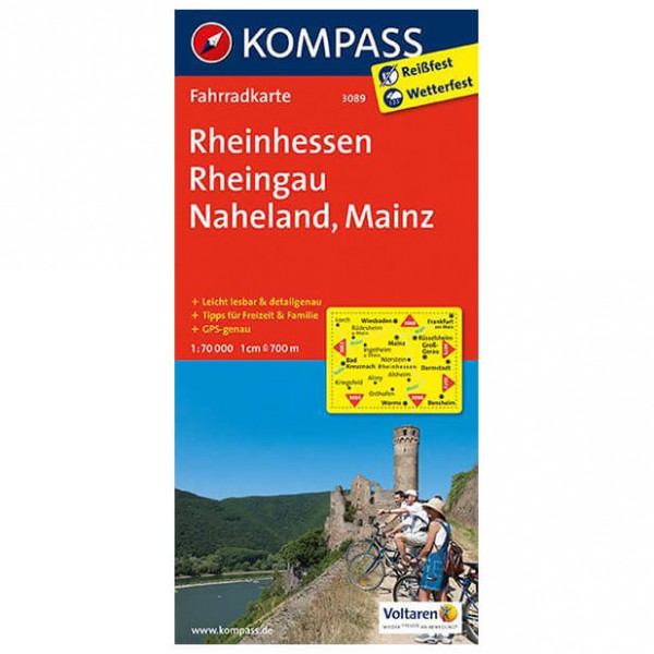 Kompass - Rheinhessen - Cycling maps