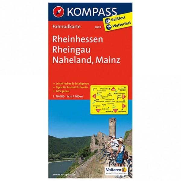Kompass - Rheinhessen - Fietskaarten
