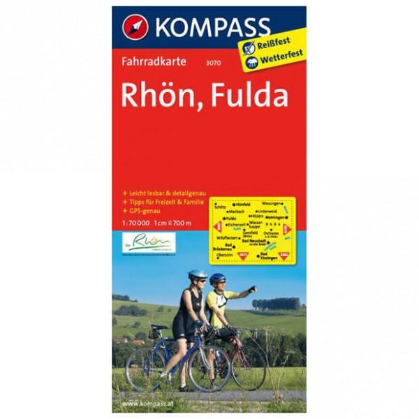Kompass - Rhön - Cartes de randonnée à vélo