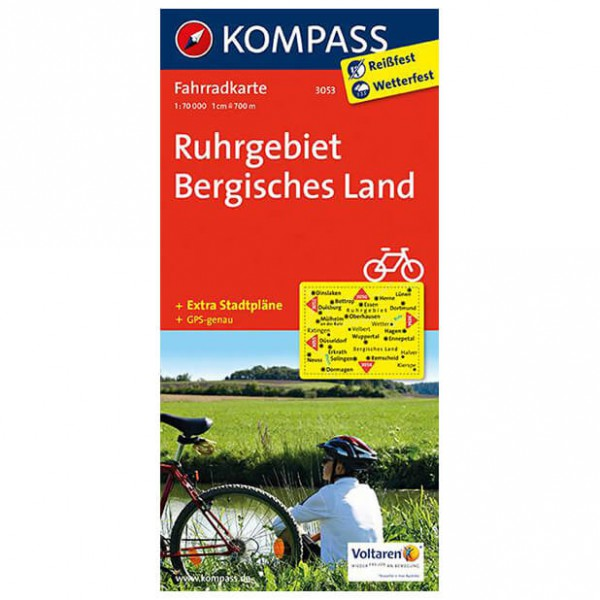 Ruhrgebiet - Cycling map