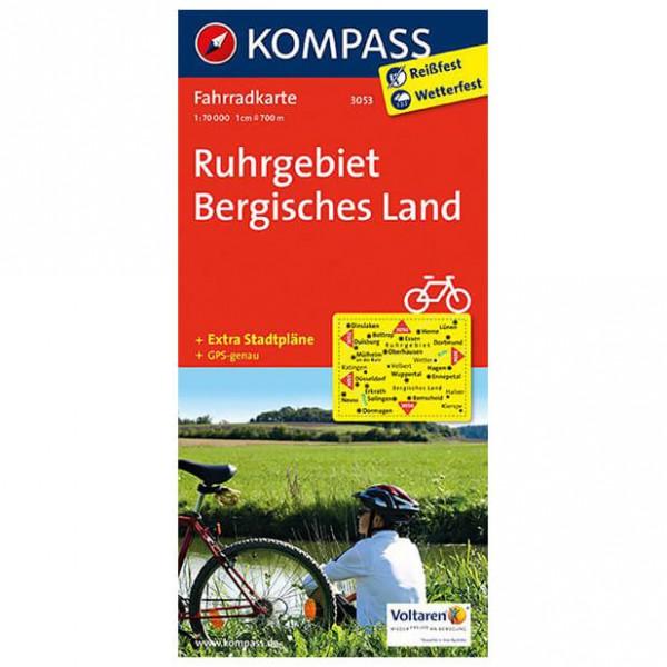 Kompass - Ruhrgebiet - Cykelkartor