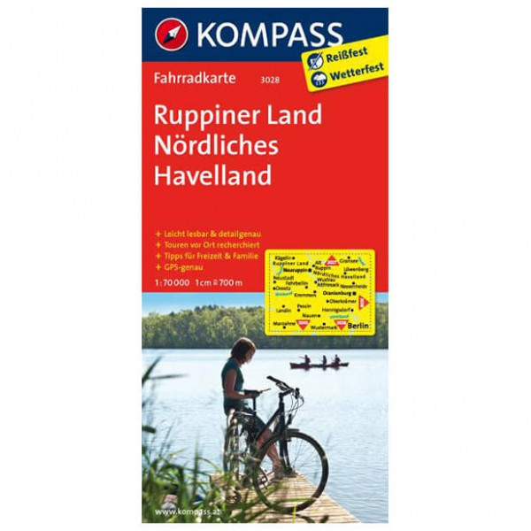 Kompass - Ruppiner Land - Cycling maps