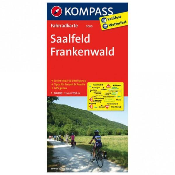 Kompass - Saalfeld - Pyöräilykartat