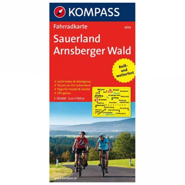 Kompass - Sauerland - Arnsberger Wald - Pyöräilykartat