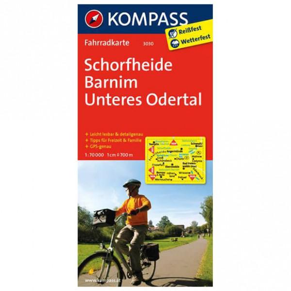 Kompass - Schorfheide - Cartes de randonnée à vélo