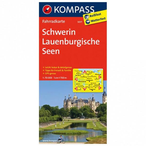 Kompass - Schwerin - Cykelkort
