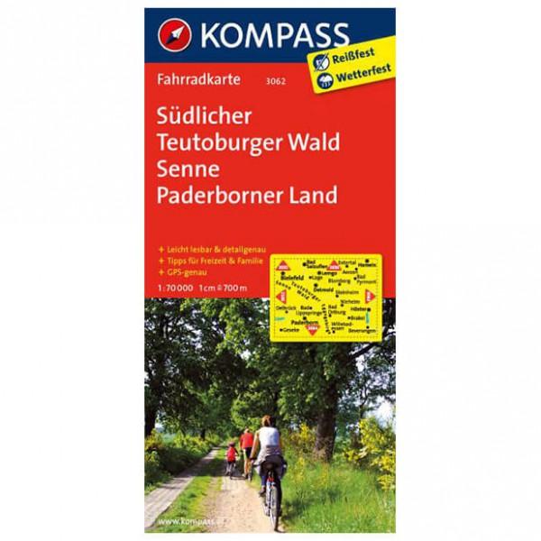 Kompass - Südlicher Teutoburger Wald - Fietskaarten